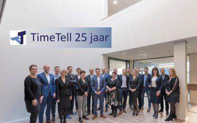 TimeTell bestaat 25 jaar